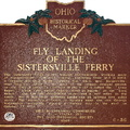 6-56 Fly Landing of the Sistersville Ferry