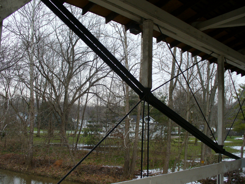 1-57 Bridge's spring truss suspension
