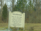 10-57 Taylorsville Dam sign
