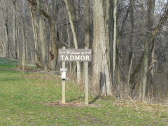 10-57 Park sign at Tadmor site
