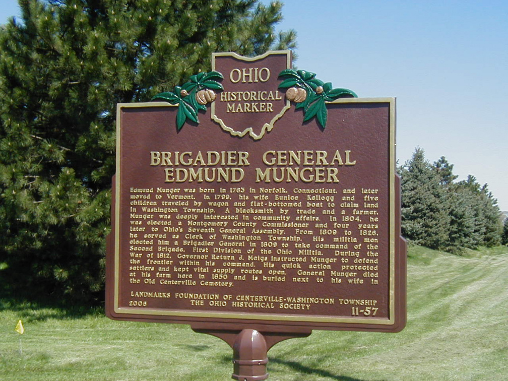 11-57 General Munger Marker