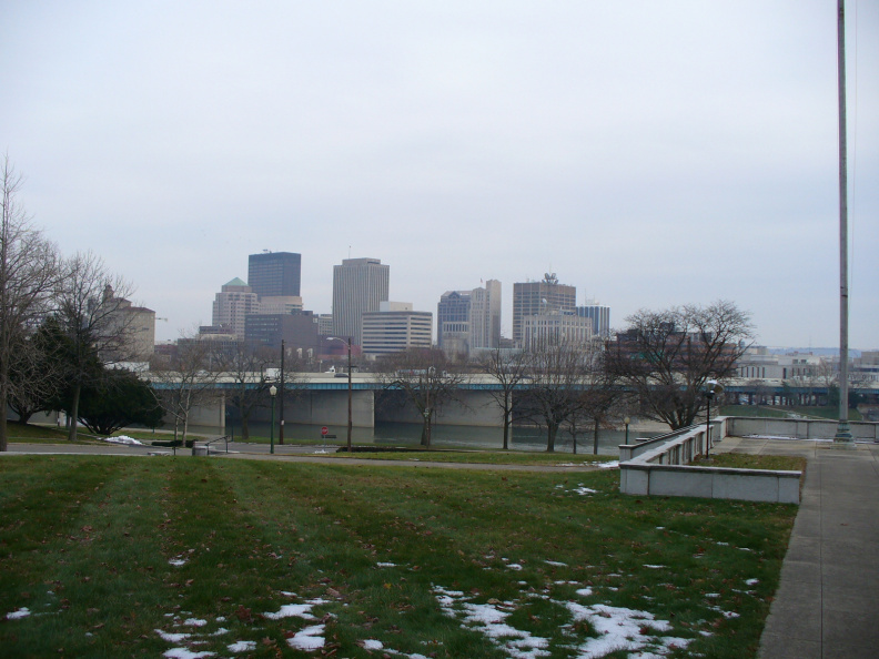12-57 Dayton Skyline from temple