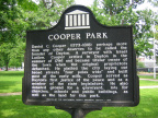 16-57 Nearby Cooper Park Marker