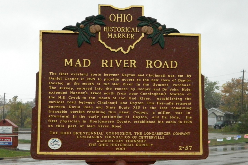 2-57 Mad River Road Marker