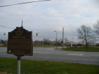 7-57 Marker and WPAFB Gate sign