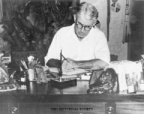 13-60 Zane Grey Correcting a Manuscript at His Desk