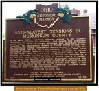 18-60 Anti-Slavery Tensions in MuskingumCounty