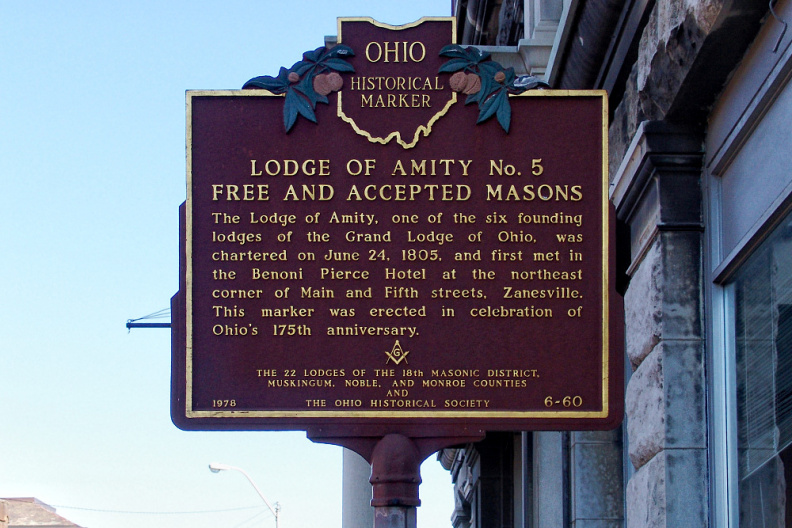 6-60 Lodge of Amity No. 5 Free and Accepted Masons