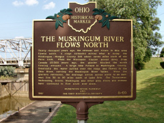8-60 The Muskingum River Flows North