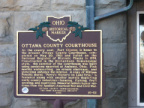 10-62 Ottawa County Courthouse Marker