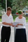 15-62 Lakeside Association President Kevin Sibbring and Lakeside Association Board of Directors Chairwoman Nancy Carlson