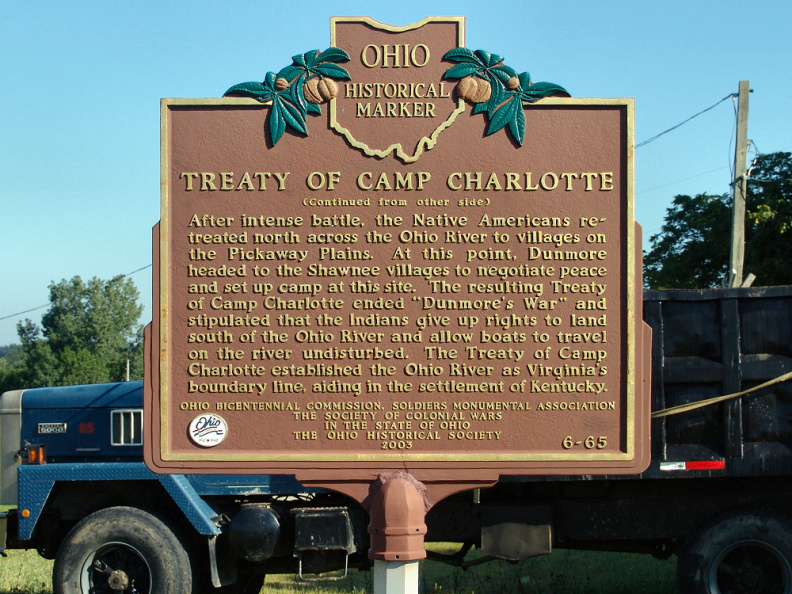 6-65 Treaty of Camp Charlotte (Side B)