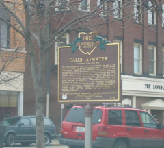 9-65 Caleb Atwater Marker