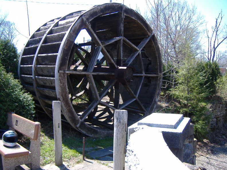 5-67 Water wheel 100 Ft from Marker