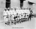 7-71 317th Engineers Baseball Team
