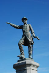 3-72 General McPherson - Statue