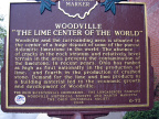 6-72 Woodville The Lime Center of he World Marker