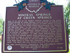 7-72 Mineral Springs at Green Springs Marker