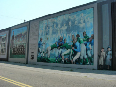 8-73 The people of Portsmouth are proud of their murals.
