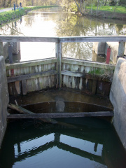 1-76 Lock Gate (note water Level)