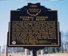 16-76 Paul Brown Marker