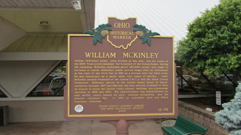 18-76 William McKinley