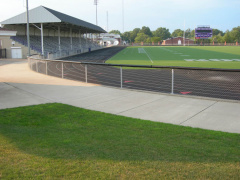 20-76 Mount Union College, which has a very good football team plays their home games on this field. The Alliance High School Aviators also use the field.