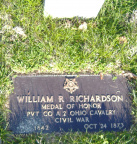 21-76 Pvt Richardson Grave site