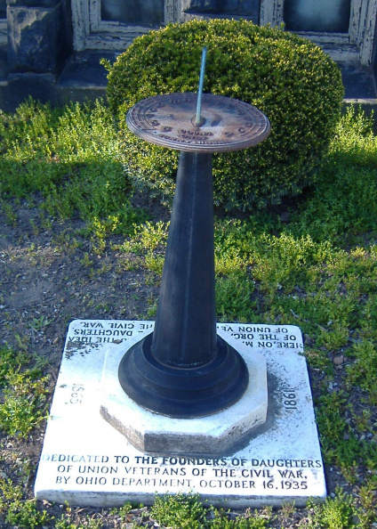 21-76 Sundial by Daughters of Union Veterans