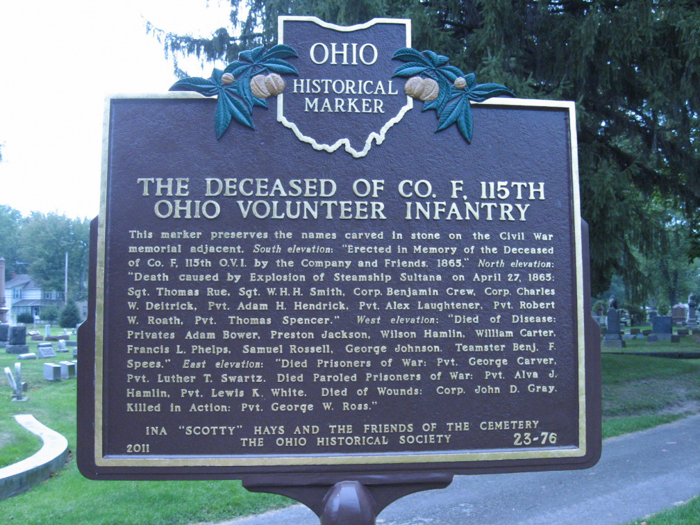 23-76 Front picture of marker