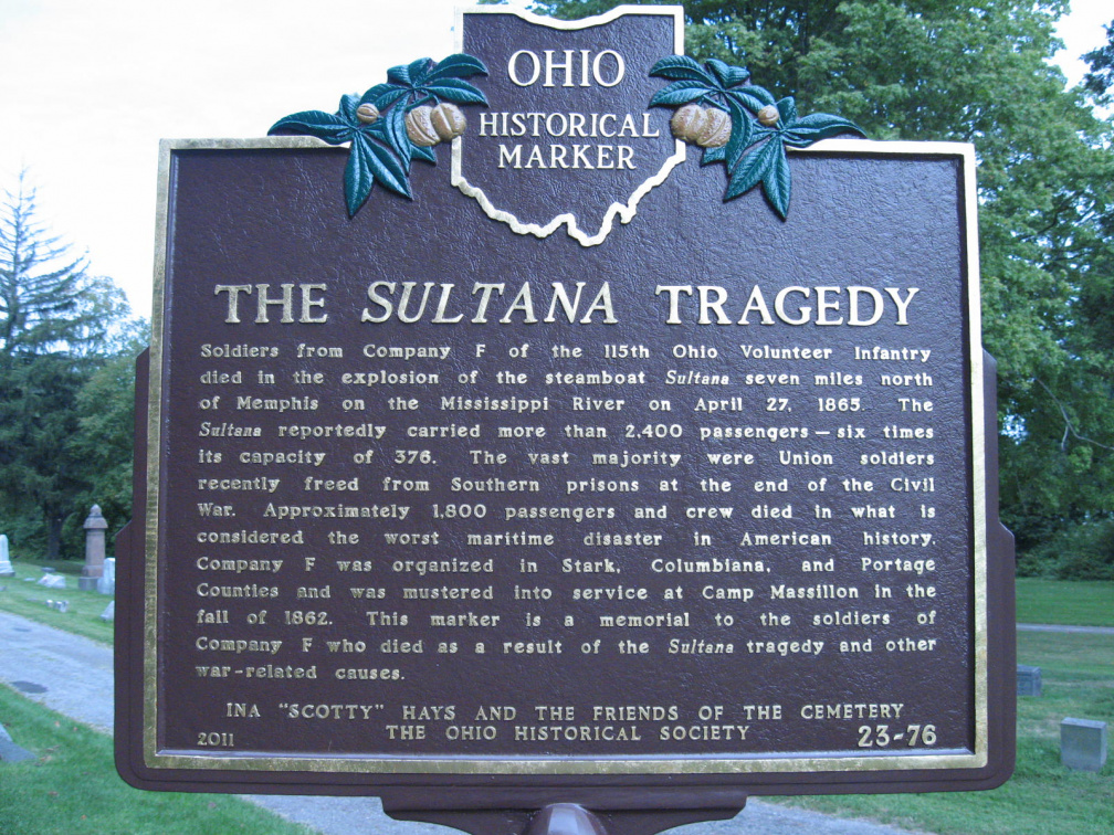 Stark County / 23-76 The Sultana Tragedy | Remarkable Ohio