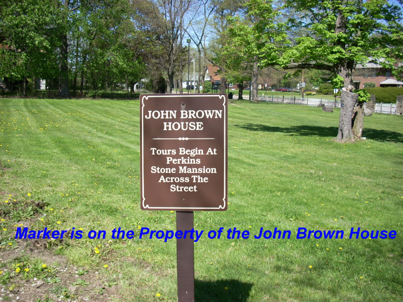 1-77 John Brown House Sign