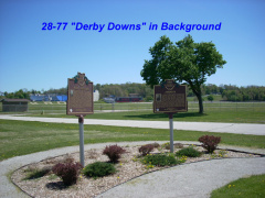 30-77 Marker 28-77 IS By Derby Downs in Background