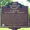 12-78 Darrow Octagon House Marker