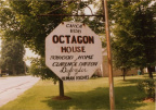 12-78 Darrow Octagon House; Sign