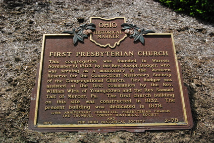 2-78 Original marker on church grounds