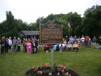 23-78 Casterline Marker Rededication