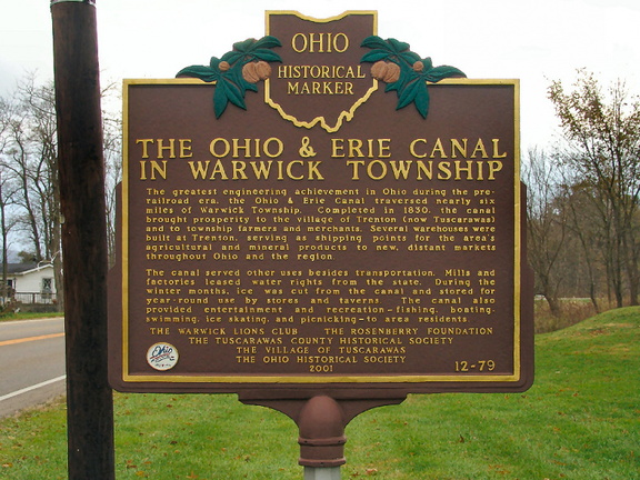 12-79 The Ohio & Erie Canal in Warwick Township (Side B)