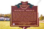 1-80 Magnetic Springs Historical Marker