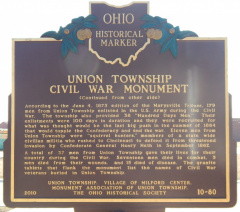 10-80 Monument Marker Rear