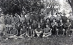 13-80 My Grandfather Denzil Scoarse with the Ohio Army National Guard 1910 before movement to the Capital.