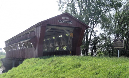 14-80 Culbertson / Treacle Creek Covered Bridge