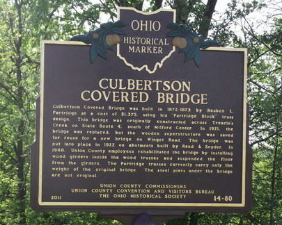 14-80 Culbertson Covered Bridge