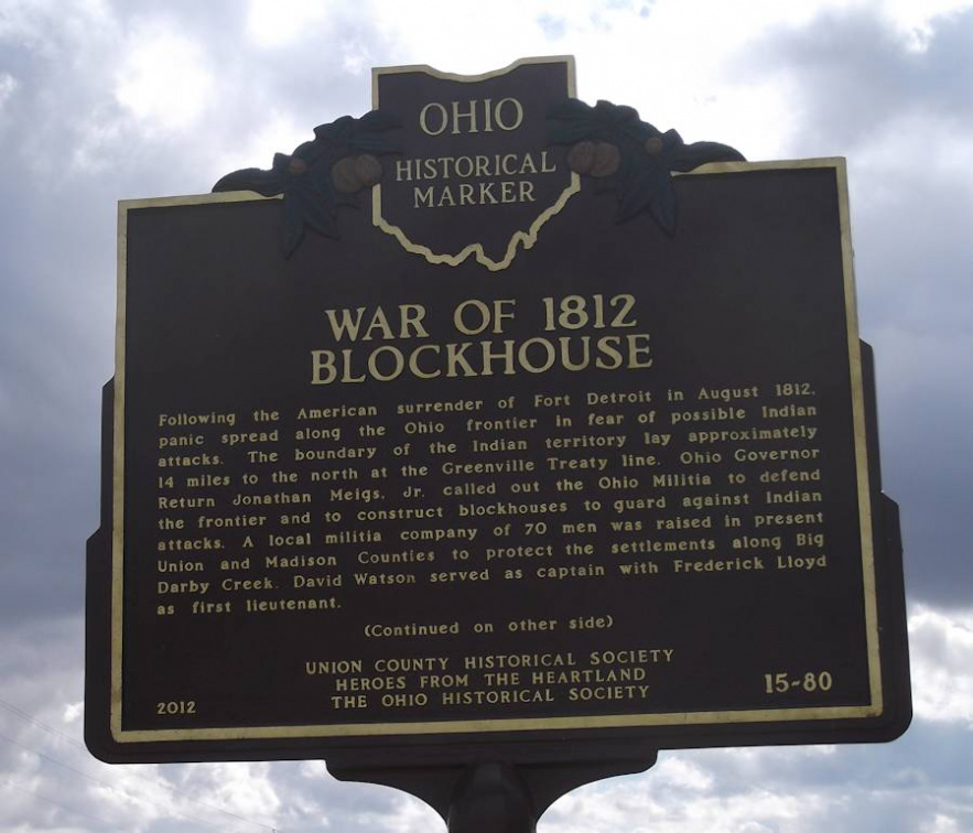 15-80 War of 1812 Blockhouse Front