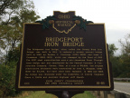 16-80 Bridgeport (Streng Road) Iron Bridge marker