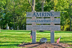 2-80 Amrine Cemetery Entrance