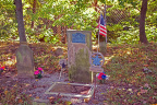 2-80 Headstone of Abraham Amrine, Revolutionary War Soldier