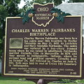 6-80 Charles Warren Fairbanks Birthplace Front