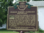 6-80 Charles Warren Fairbanks Birthplace