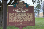 2-83 Union Village (1805-1912) - Marker Front